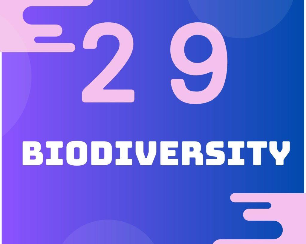 29 Biodiversity