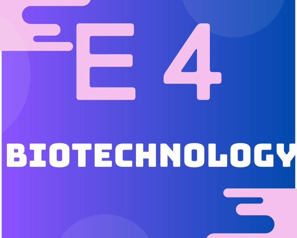 E4 Biotechnology
